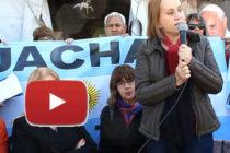 [Mendoza] Graciela Cousinet en Jachal