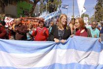 [Mendoza] Cousinet y Stolbizer repudiaron a la Barrick Gold en Jáchal
