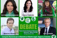[CABA] Debate de candidatxs sobre el derecho al aborto