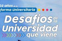 [Córdoba] A 102 años de la Reforma universitaria: desafíos de la Universidad que viene.