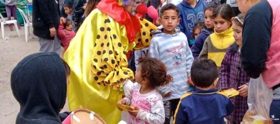 [Mar del Plata] Barrios de Pie festeja el Día del Niño y la Niña en más de veinticinco barrios humildes