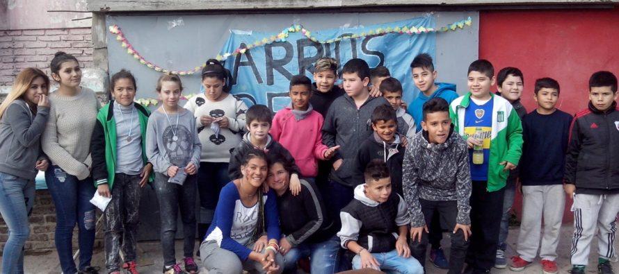 [San Fernando] Servetto y la juventud de Libres del Sur festejaron el día del niño