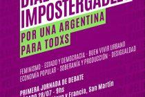 """28/7 Primera jornada de debate de """"En Marcha"""""""