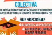 [Santiago del Estero] Lanzan campaña solidaria para los sectores mas vulnerables ante la pandemia.