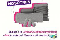 [Santa Fe] Campaña solidaria de productos de higiene y gestión menstrual.