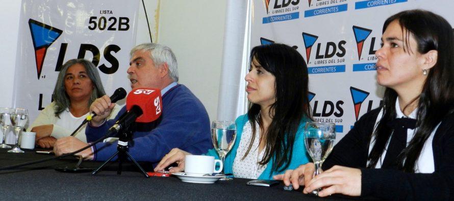 [Corrientes] Donda respaldó a los precandidatos de la Lista 502B