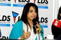 Victoria Donda viajará a Esquel para tener reuniones por la desaparición de Santiago Maldonado