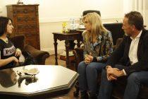 [Mendoza] Donda y Mancinelli fueron recibidos por la vicegobernadora Montero