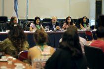 Victoria Donda y Mónica Fein en el Congreso por políticas de género