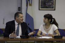Donda y Garrido presentaron proyecto anticorrupción