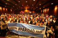 Stolbizer, Galmarini, Donda y otras diputadas por la paridad de género