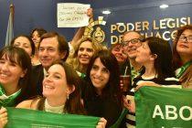 [Chaco] Fuerte apoyo a la Ley de Interrupción Voluntaria del Embarazo