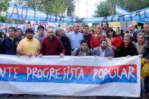 """[San Juan] Donda: """"Scioli, Macri y Massa están a favor del saqueo de la megaminería"""""""