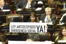 Donda y Masso reclamaron una Ley anti-despidos