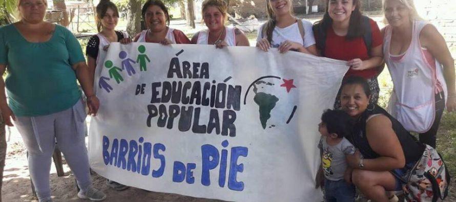 [Pergamino] El área de Educación Popular de Barrios de Pie cerró el año en el barrio Güemes