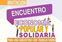 [Pergamino] Martes 18. Realizarán en la UNNOBA el 1er Encuentro de la Econonia Popular.