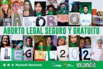 Encuentro cultural federal por el Aborto Legal, Seguro y Gratuito.