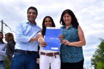 [Neuquén] Jesús Escobar y Paula Sánchez participaron del aniversario del barrio Bouquet Roldán