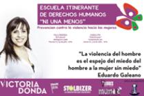 [CABA] 16.07 Victoria Donda impulsa escuela itinerante NiUnaMenos