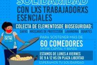 [Santiago del Estero] Solidaridad con trabajadoras/es esenciales de los barrios populares.
