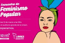 "[La Matanza] 12/3 ""Encuentro de Feminismo Popular"""