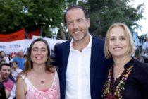 [Mendoza] Mancinelli y Cousinet donan 100 árboles para la plaza de Cavadito en Lavalle