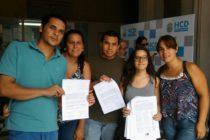 [Corrientes] Estudiantes se manifestaron contra las restricciones a la Yo Voy