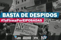 [La Matanza] Firmas en apoyo al Hospital Posadas