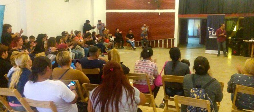 [Tigre] Gran formacion de afiliadxs de Libres del Sur