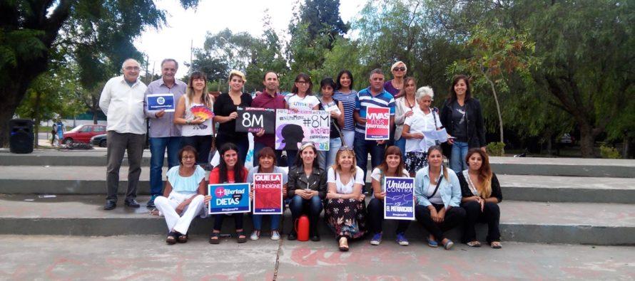 [Tigre] El Frente Renovador y Libres del Sur, juntos por el Paro Internacional de Mujeres.