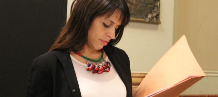 Victoria Donda en Brasil para participar en la audiencia por Petrobras