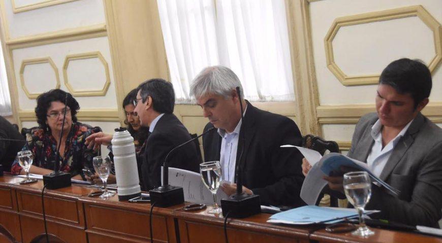 Gabriel Romero en Sesión del Consejo Deliberante 2017
