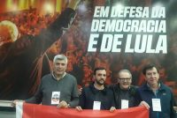 Isaac Rudnik en Brasil en apoyo a Fernando Haddad