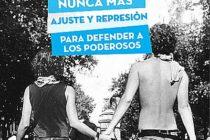Nunca más ajuste y represión. En homenaje a los pibes del 19 y 20
