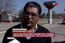 [Santiago del Estero] Defectos, sobreprecios y un muro para tapar la pobreza