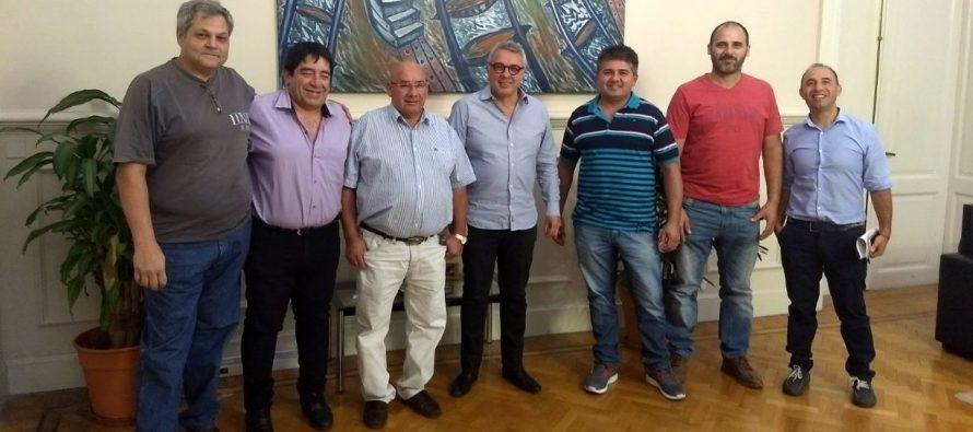 [Tigre] Oscar Hurtado se reunió con el Intendente Julio Zamora