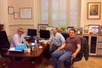 [Tigre] Referentes de Libres del Sur se reunieron con el Intendente Dr. Julio Zamora.