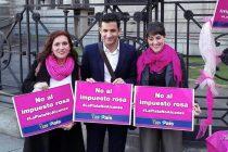 """[CABA] Campaña """"La plata no alcanza ¿Sabés qué es el impuesto rosa?"""""""