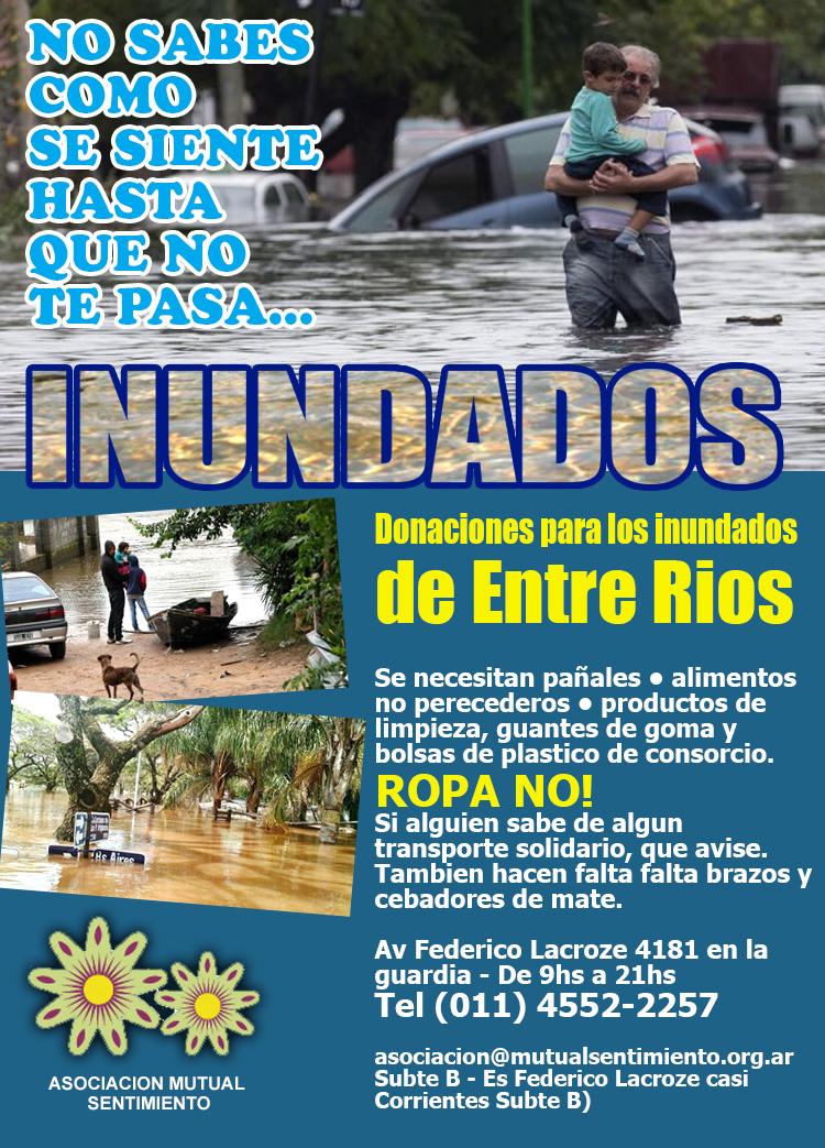 ayuda inundados