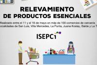 [San Luis] ISEPCi: Relevamiento de productos esenciales