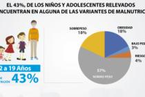 [Bs. As.] 43% de niños y adolescentes se encuentra en alguna variante de malnutrición. Informe preliminar