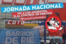 Jornada nacional: Barrios de Pie moviliza para pedir que cesen los aumentos de los alimentos