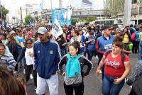 Se hizo la Jornada Nacional de Protesta de Barrios de Pie. Cobertura en todo el país