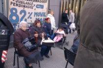 Jubilados, 1267 miércoles frente al Congreso Nacional