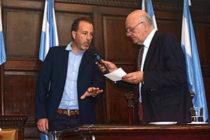 [Mendoza] El flamante senador Ernesto Mancinelli fue designado Vicepresidente del Senado