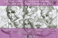"""[CABA] 27/8 Cátedra Libre. Historia de las Mujeres. """"A 200 años, estamos de pie"""""""