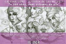 """[CABA] Cátedra Libre. Historia de las Mujeres. """"A 200 años, estamos de pie"""""""
