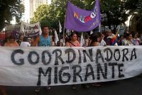 [La Plata] Multitudinaria marcha a 10 años del femicidio de Sandra Ayala Gamboa