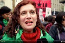 [CABA] Velasco participó de la marcha por la legalización del aborto