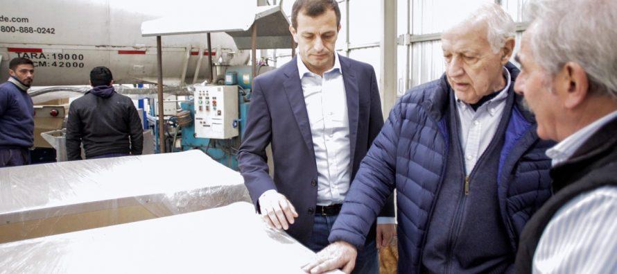 """[Bs. As.] Lavagna con Bali Bucca: """"Los de antes y los de ahora condenaron al fracaso al sector industrial""""."""""""